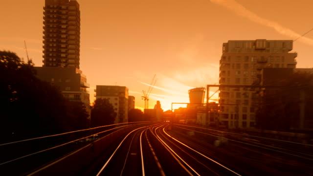 Train-Trip-Through-Central-London-England-UK
