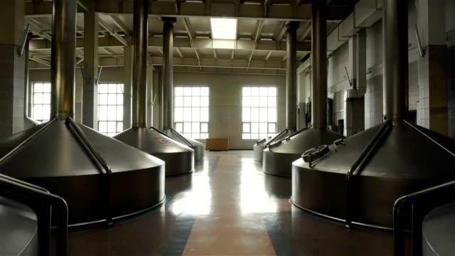 Brewing-production---mash-vats-