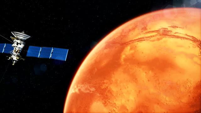 Hermoso-satélite-realista-en-baja-órbita-de-Marte-
