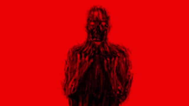 Beängstigend-böse-Geister-der-Dunkelheit-Animation-