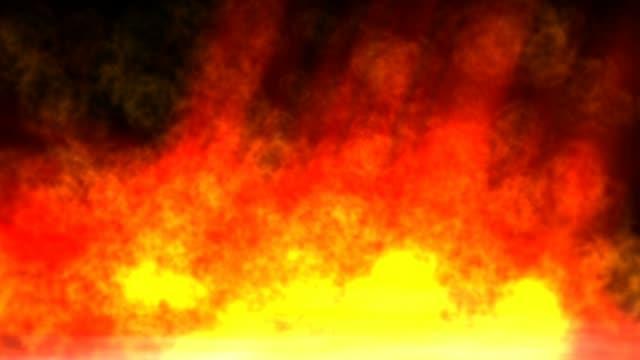 Animación-de-fuego-de-infierno