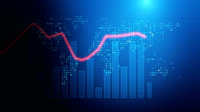 4k-loop-financial-chart-background-footage