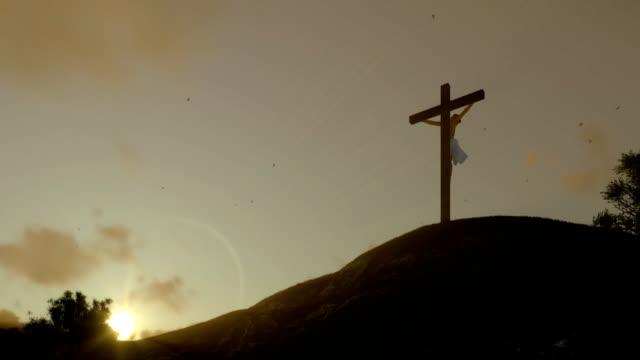 Jesús-Cruz-al-atardecer-vista-panorámica