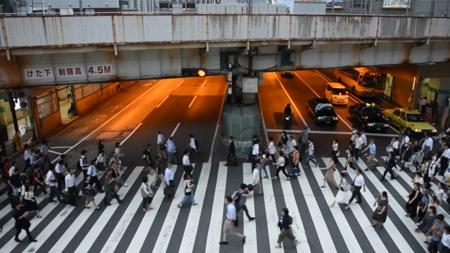 Busy-Zebra-crossing-in-Osaka-Japan