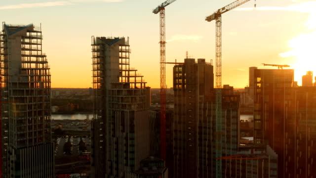 Skyscrapers-in-London-England-UK