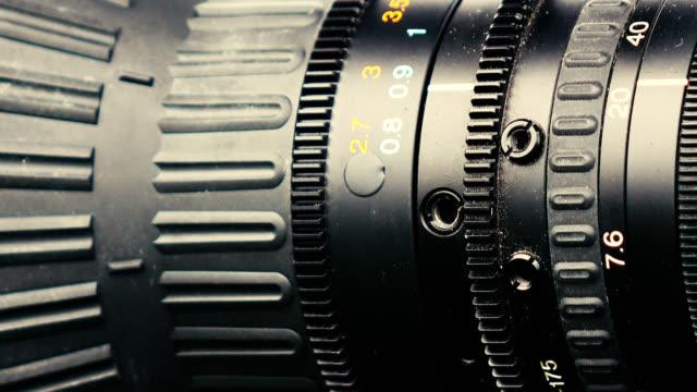 Close-up-shot-of-focusing-the-video-camera-