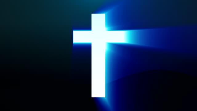 Luz-Cruz-de-Cristo-ray-vigas-de-fondo