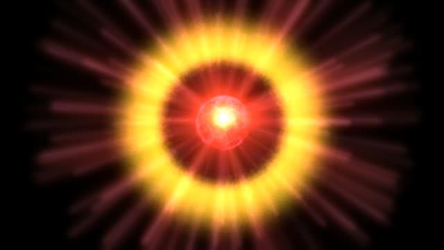 Animación-de-partículas-cósmicas-de-Digital