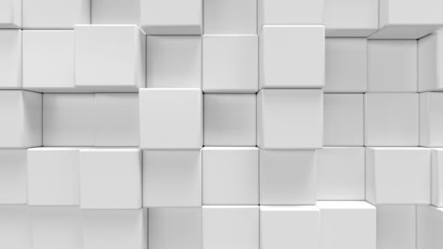 Fondo-abstracto-hexagonal-geométrica-blanco-Render-3D