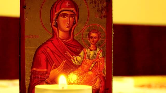 Orthodoxe-Ikone-Heilige-Mutter-Gottes-