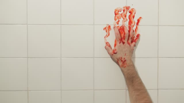 Bloody-Hand-In-A-Wall