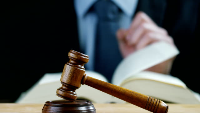 auction-or-scene-of-lawyers-or-notaries-with-gavel-judge-for-the-insurance-compensation-or-criminal-cases-
