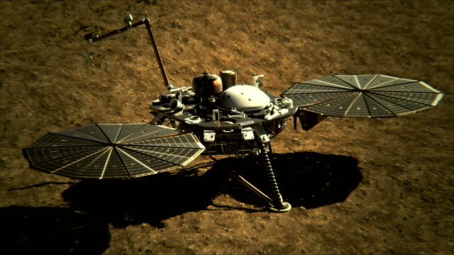 4K-NASA-InSight-Lander-on-the-Surface-of-Mars-(Elements-furnished-by-NASA)