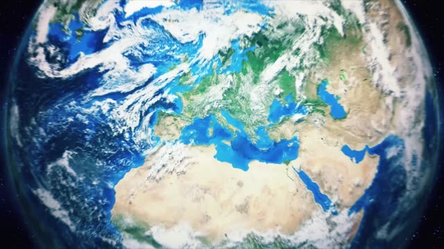 Zoom-From-Earth-and-Back-Travel-to-Rome-Daytime