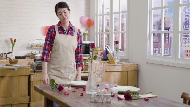 women-unsatisfied-while-setting-up-table