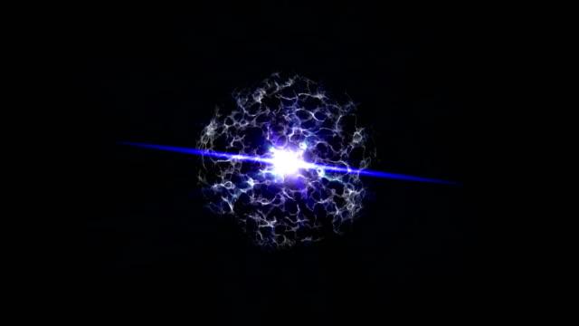 4K-blue-energy-ball-with-plasma-beam-radiation-electric-rays