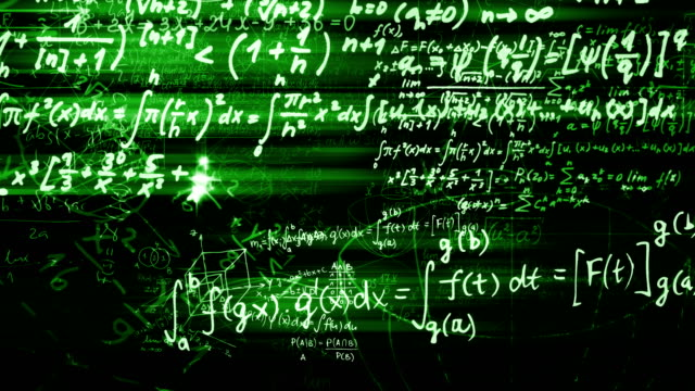 The-abstract-mathematical-formulas-moves-in-the-virtual-space-looped