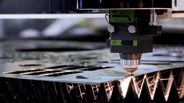 Automated-production-with-cnc-process-and-laser-machine-for-cut-metal