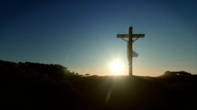 Jesus-Kreuz-bei-Sonnenaufgang-4K