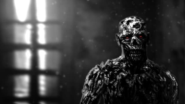 Düsteren-Zombie-apokalyptischen-Gesicht-