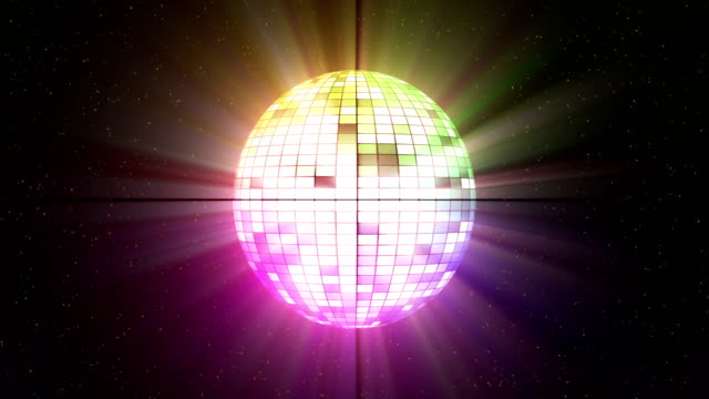 Disco-ball-able-to-loop-seamless