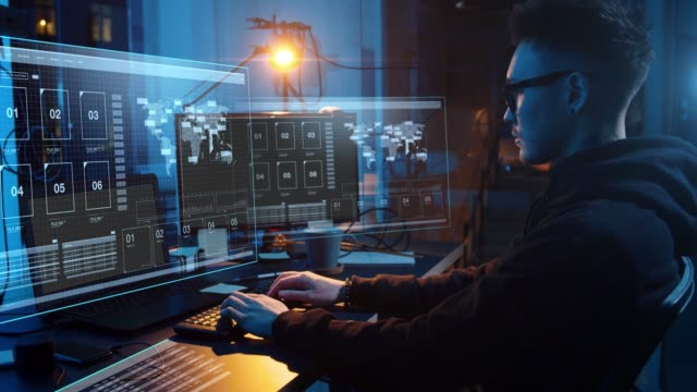 hacker-using-computer-virus-for-cyber-attack