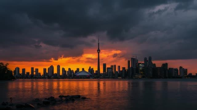 City-Skyline-Sonnenuntergang-Toronto