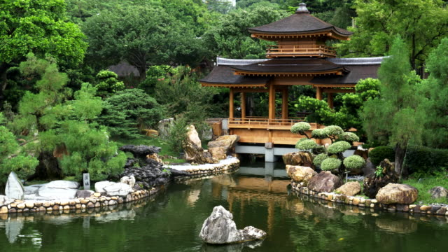 blue-pond-and-pavilion-bridge-at-nan-lian-gardens-in-hong-kong