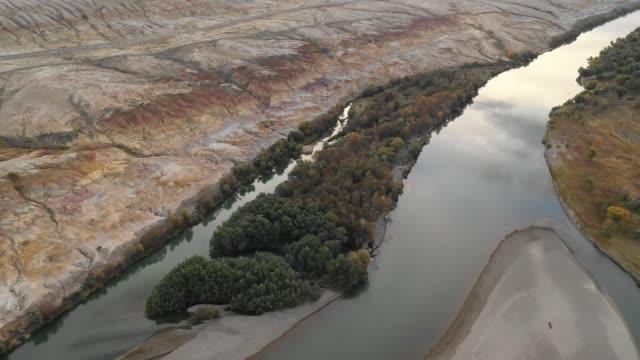 Der-chinesischen-Provinz-Xinjiang-Landform-Naturgebiet
