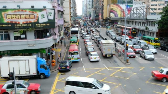 Busy-traffic-at-Mongkok-District-in-Hong-Kong