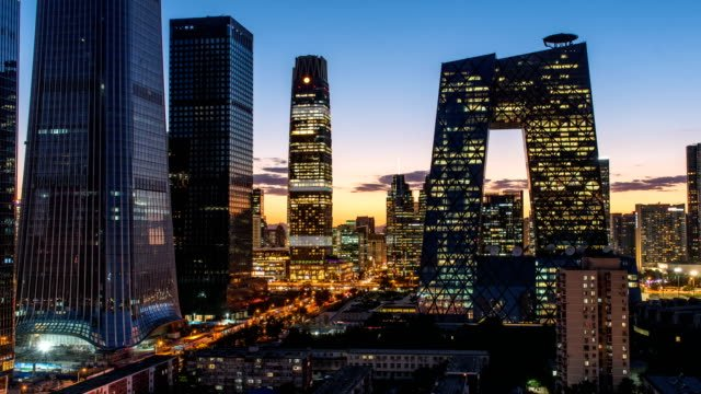 Beijing-downtown-cityscape-from-day-to-night-