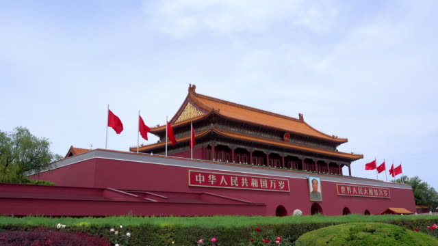 Tiananmen-building-is-a-symbol-of-the-People-s-Republic-of-China