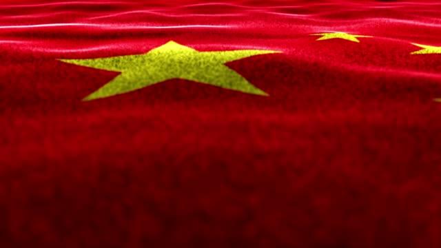 CHINA-Fondo-de-alfombra-textil-Renderización-animación-mover-la-cámara-4k