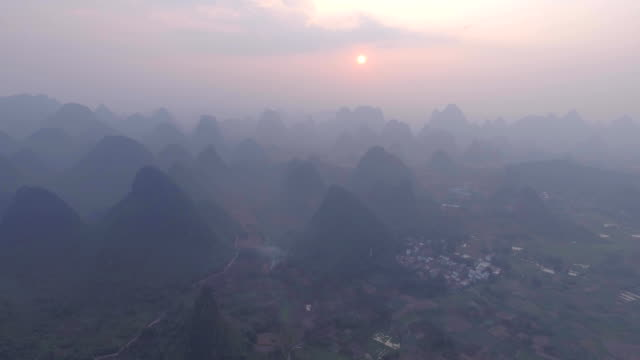 Aerial-Landscape-in-Guilin