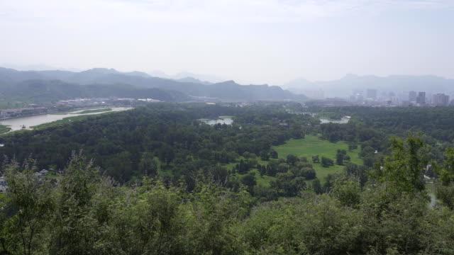 Panoramic-view-overlooking-the-chengde-summer-resort