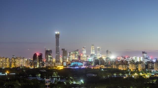 beijing-cbd-sunset-time-lapse