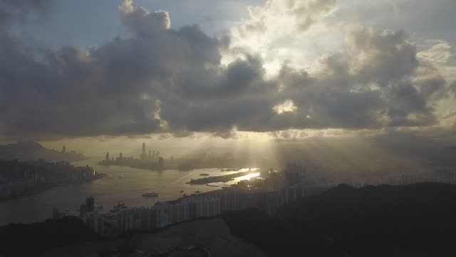 Drone-footage-of-Tseung-Kwan-O-City-Hong-Kong