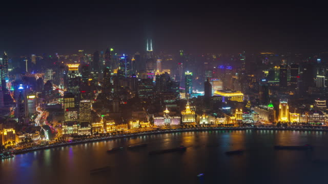 china-night-illumination-shanghai-old-city-bay-roof-top-aerial-panorama-4k-time-lapse
