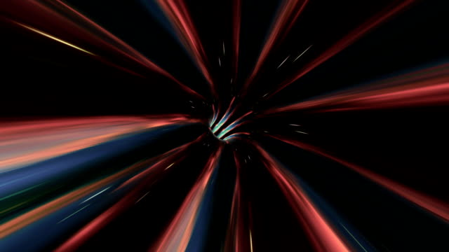 Futuristic-light-tunnel-Abstract-background