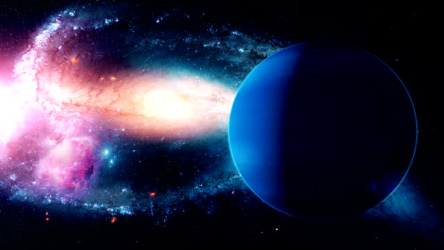 Realistic-beautiful-planet-Neptune-from-deep-space