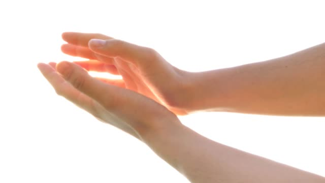 praying-hands-with-brightness-blessing-god-angel