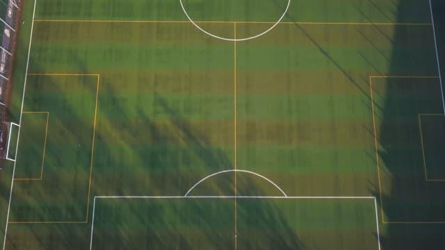 Aérea-del-campo-de-fútbol-con-Césped-Artificial-verde