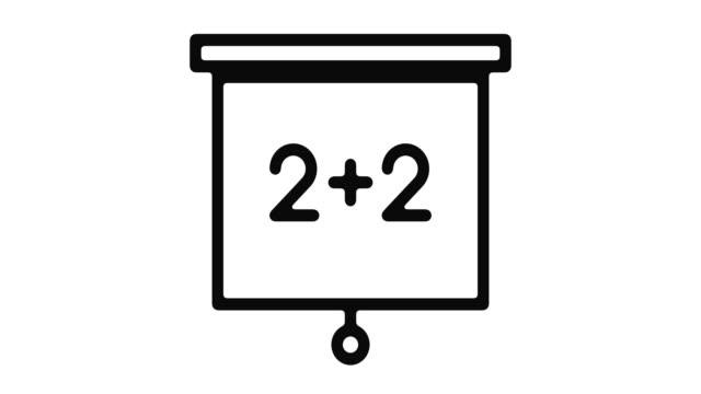 Matemáticas-línea-Motion-Graphic
