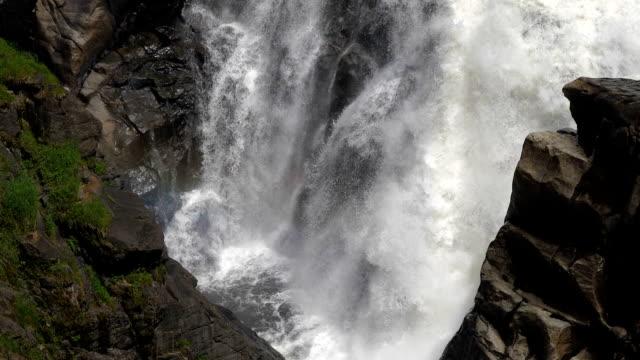 Beautiful-falling-waterfall