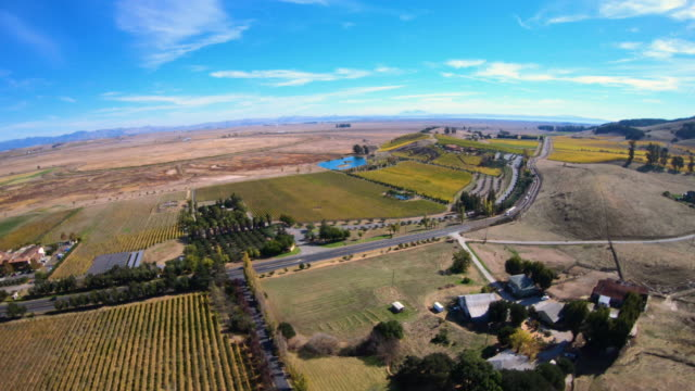 Aerial-View-Above-Vineyards-in-Sonoma-County-California