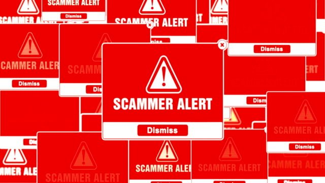SCAMMER-ALERT-Alert-Warning-Error-Pop-up-Notification-Box-On-Screen-