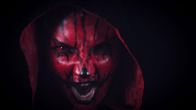4k-Horror-Halloween-Devil-Shouting