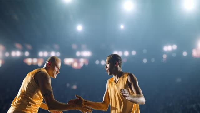 Basketball-player-celebrating