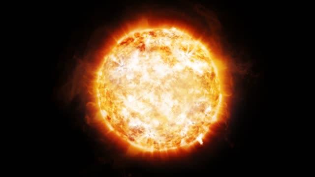 Animación-de-emisiones-coronales-y-prominencias-en-el-sol-en-el-espacio