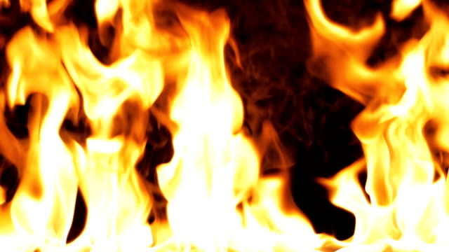 Fire-flame-Close-up---Slow-Motion